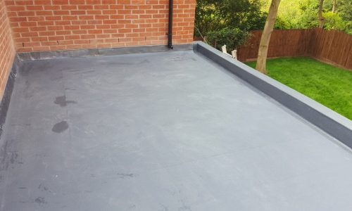 enclosed grp roof in handford