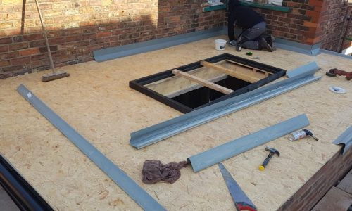 heald green stockport roofers install grp flat roof