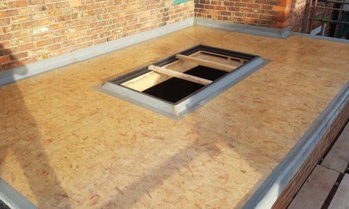 grp fibreglass roof matting