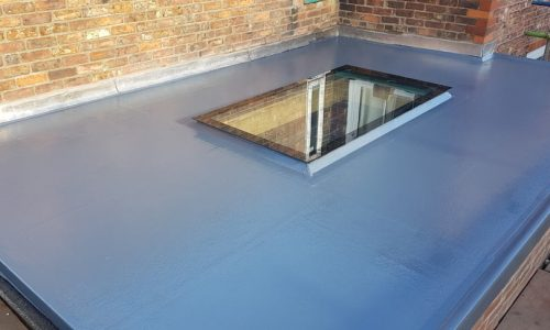 grp reroof in heald green, stockport completed by dm roofing