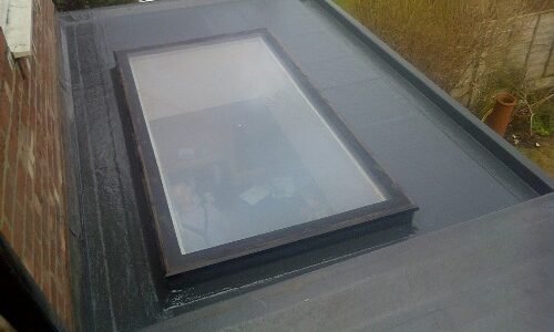 GRP Kitchen Roof Extension in Stockport