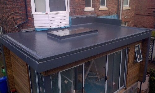 GRP Roof completed by DM Roofing
