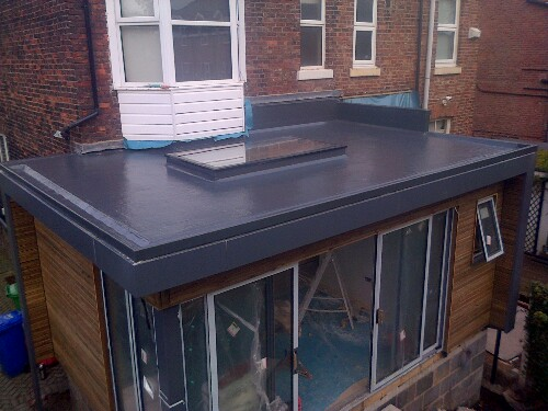 GRP Flat Roofing Reddish