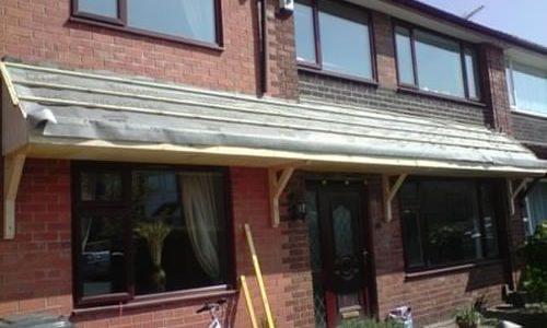 Roofers in Alderley install new roofing felt