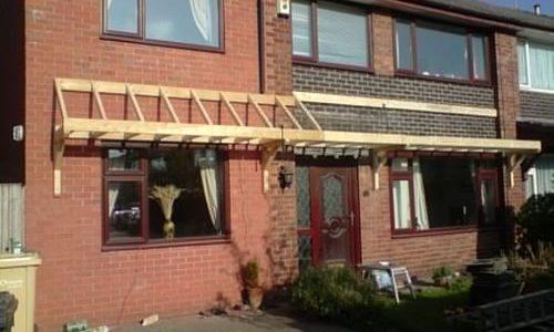 new roof framework