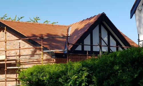 dm roofing completed this new build tile roof in bramhall, stockport.